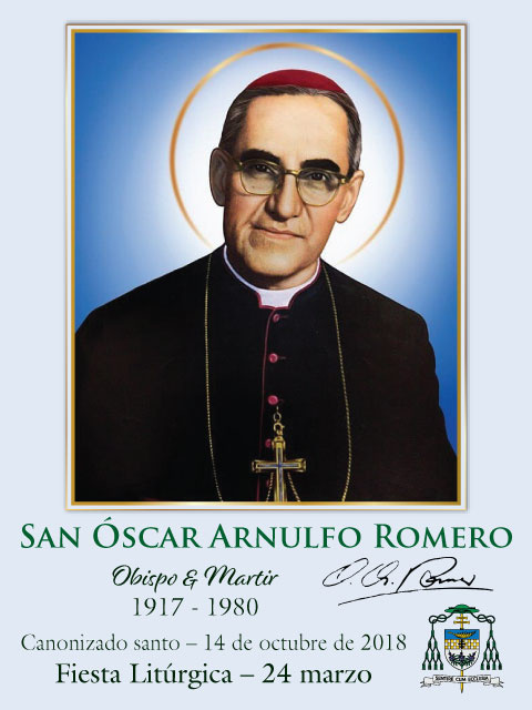 *SPANISH* Special Limited Edition Collector's Series Commemorative St. Oscar Romero Canonization Hol